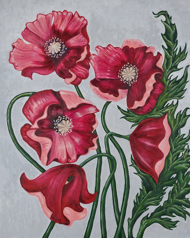 Painting «Fabulous Poppies»
