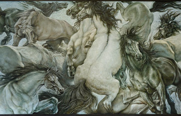 Painting «Horses»