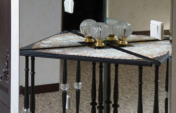 Handmade table «Lumiere»