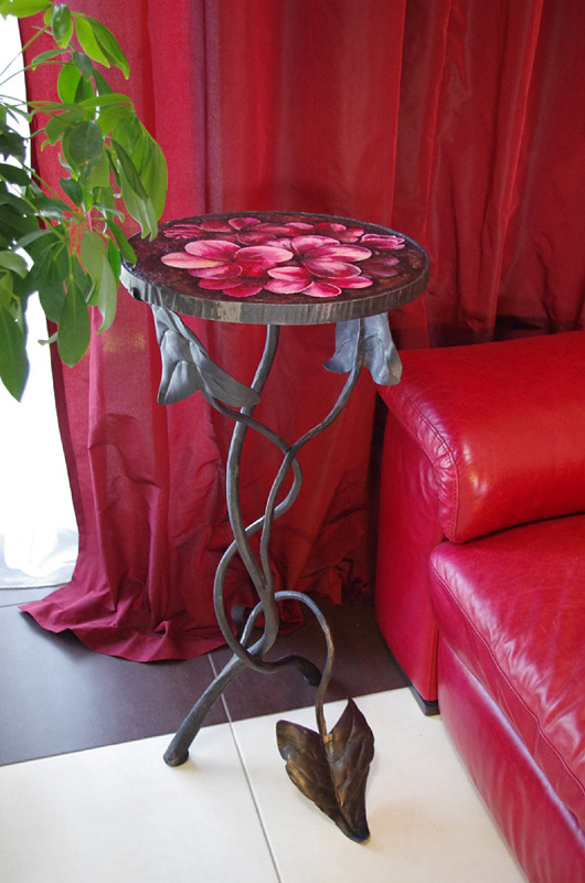 coffee table Flower Glade for bedroom or boudoir